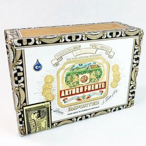 Arturo Fuente Cigar Paper & Wood Decorative Box